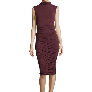 Anthro. Bailey 44 Ludlow Sleeveless Ruched Dress